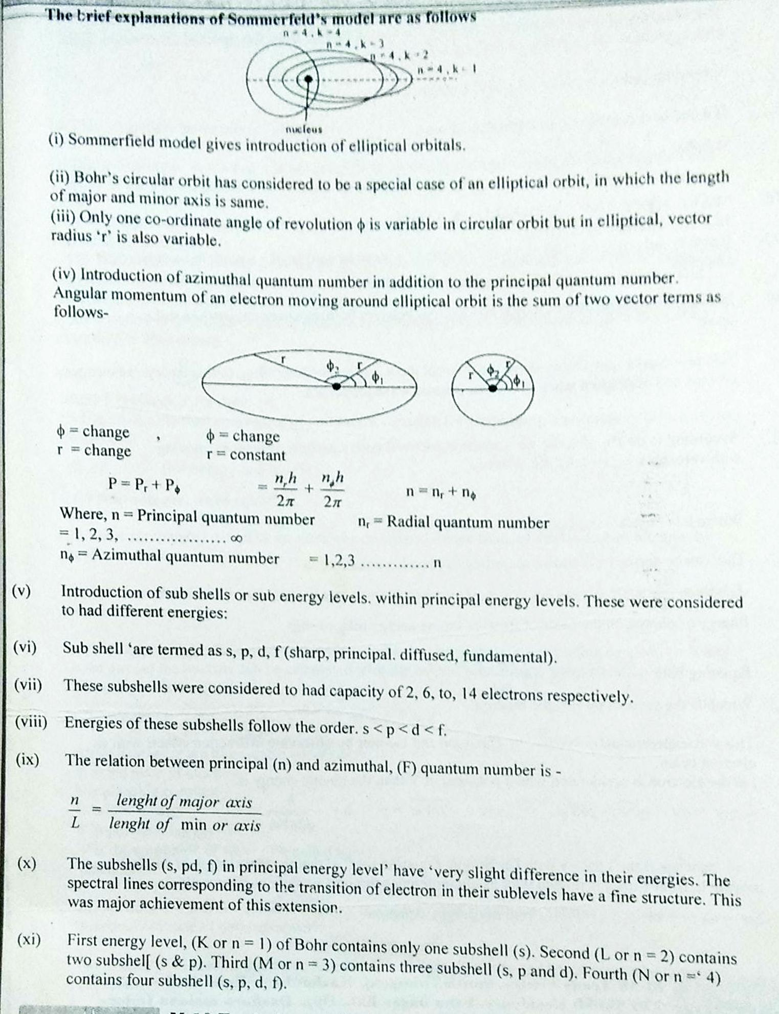 ATOMIC STRUCTURE NOTES and MCQ in PDF FOR NEET, JEE