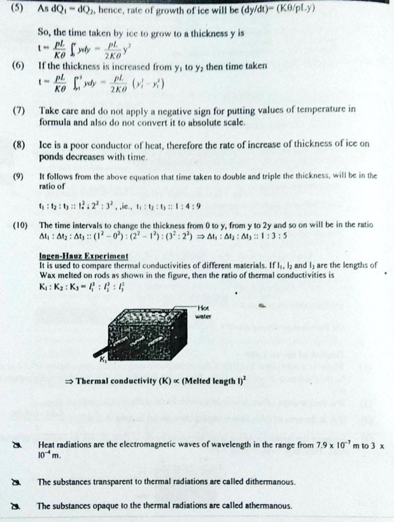 Transmission of Heat (4)