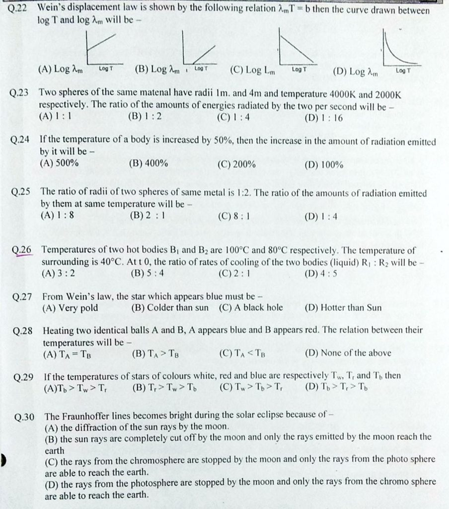 transmission of Heat MCQ (9)