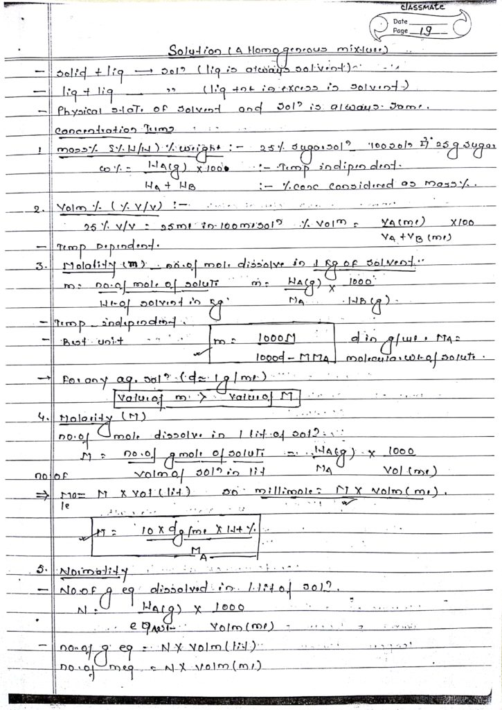 Solution and Collegative property_1