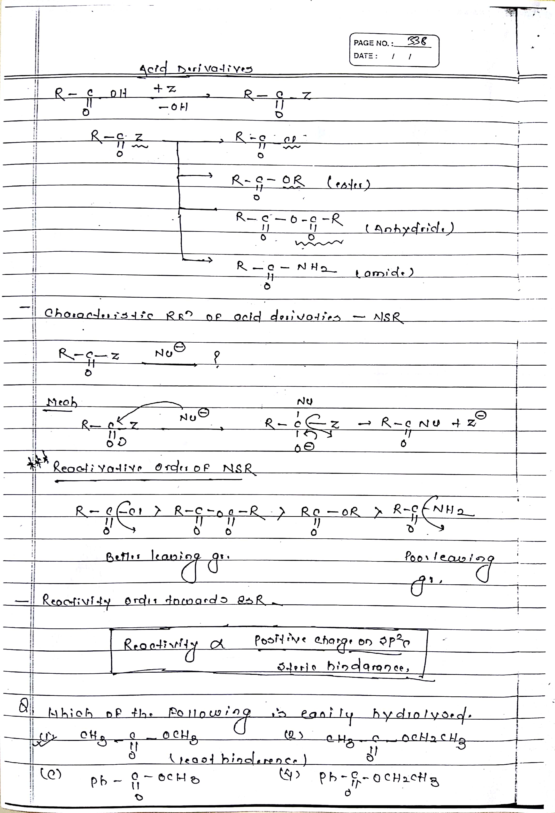 acid derivatives (1)
